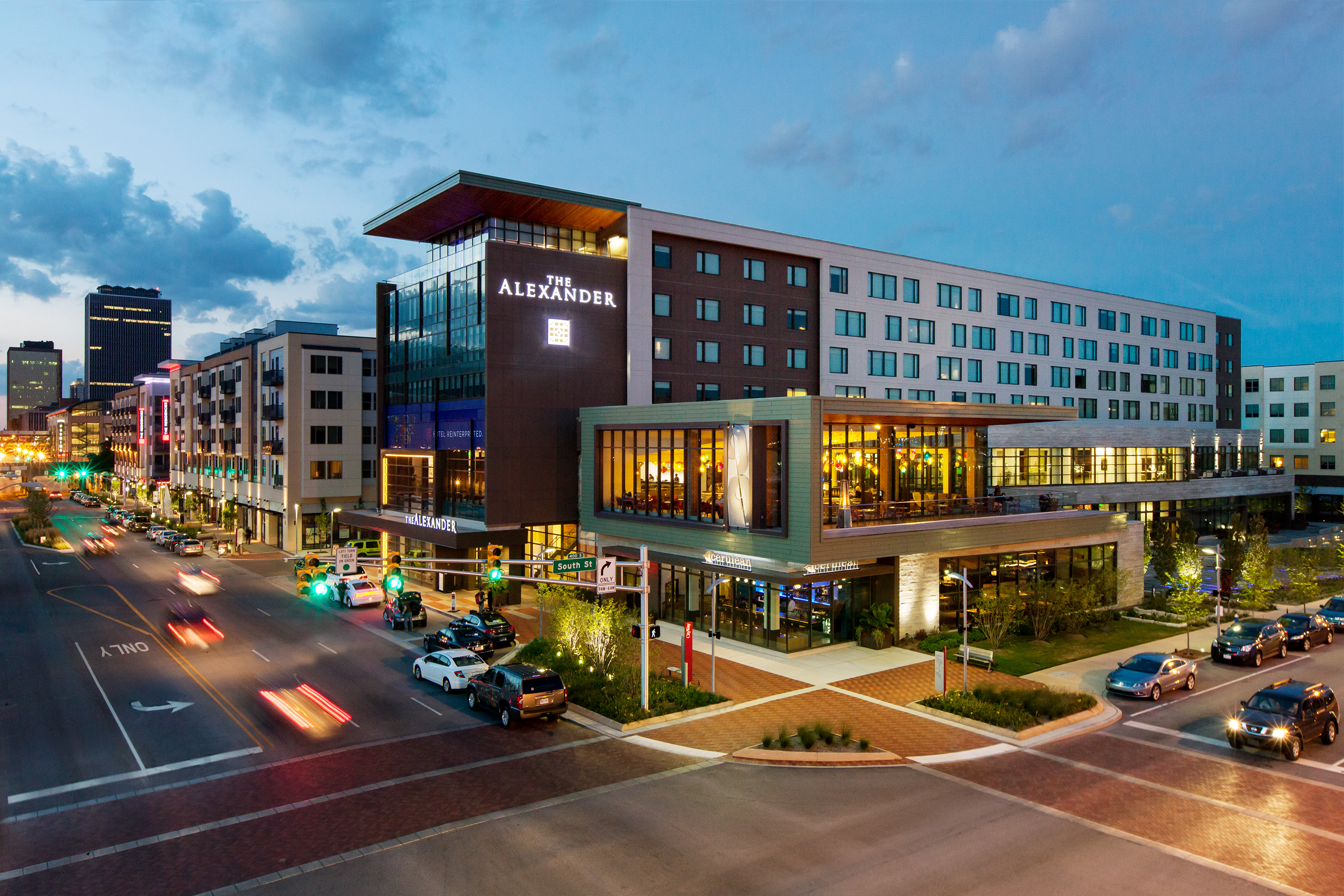 The Alexander Hotel located in Indianapolis
