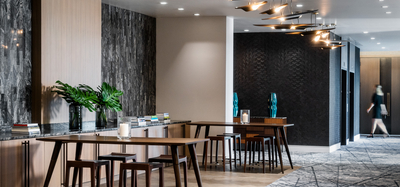 Kimpton Aertson Hotel meeting space in Nashville, TN