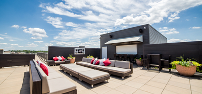 The Foundry Rooftop Terrace in South Bend