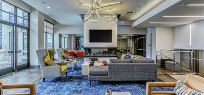 Resident Lounge at Aertson Midtown in Nashville, TN