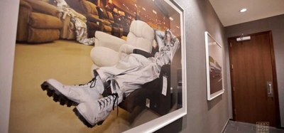 Downtown Indianapolis Hotel - The Alexander -- The Art Collection