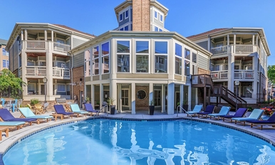 Altitude Blue Ash Clubhouse and Pool
